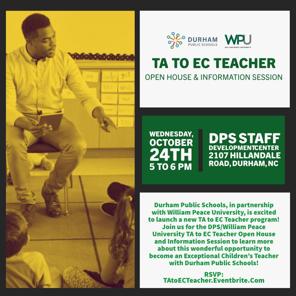 Ta To Ec Teacher Program Information Session