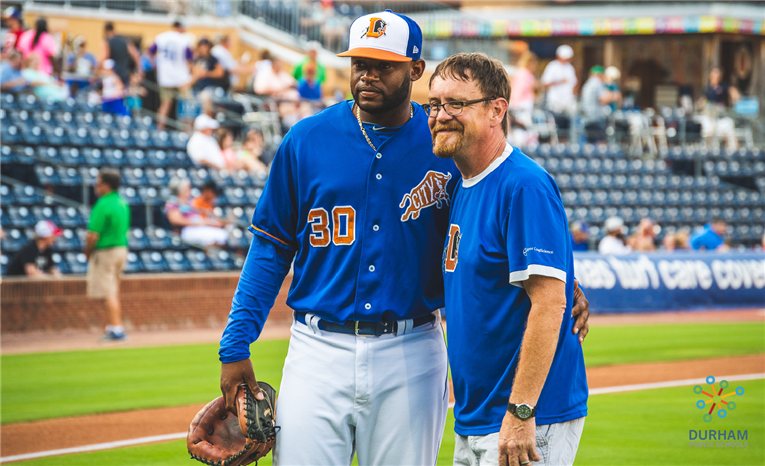 On Thursday, May 30, 2019, our 2019-20 Teacher of the Year Brandon Daniel threw out the first pitch
