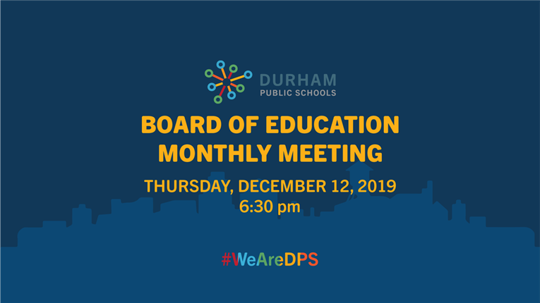 DPS Board of Education Meeting | 12/12/19