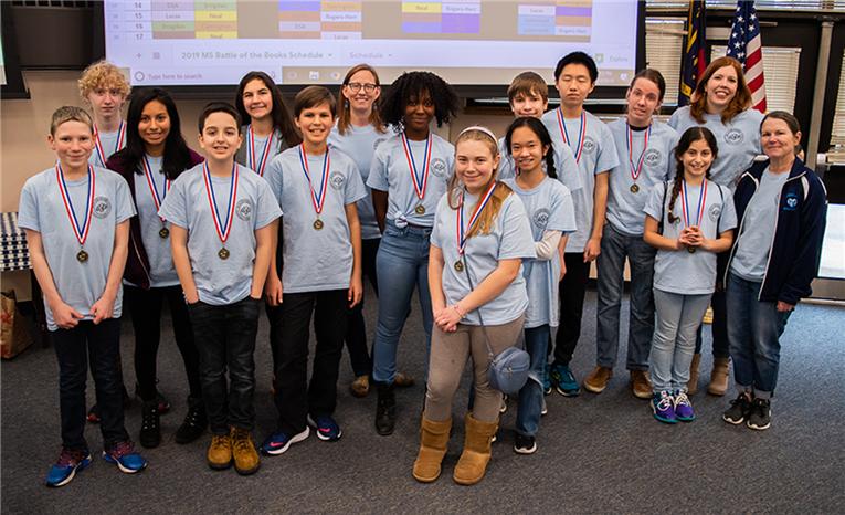 2019 Battle of the Books (Middle School)