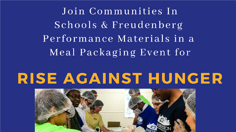 Rise Against Hunger Meal Packing at Durham Performance Learning Center