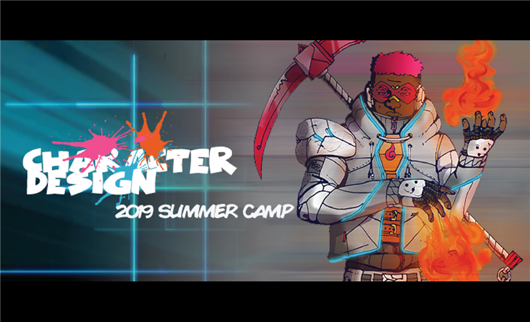Character Design Summer Camp at NCCU