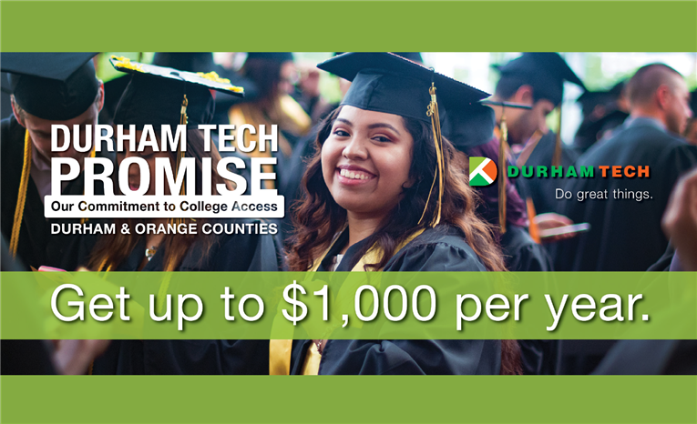 Receive Money to Attend Durham Technical Community College
