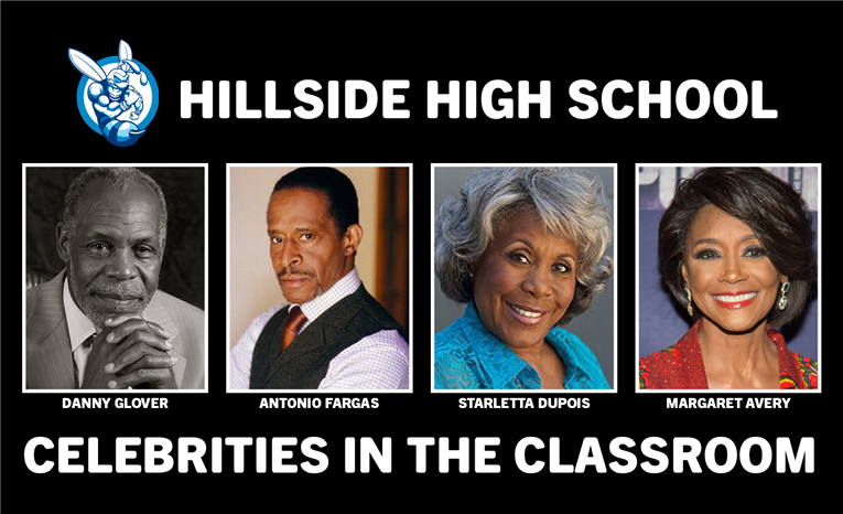 Hillside High School welcomes Celebrities into their Classrooms