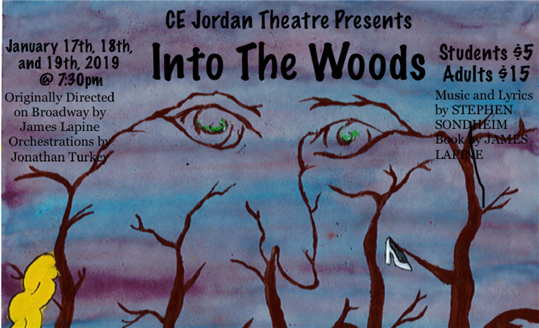 Jordan High School's production of Into The Woods