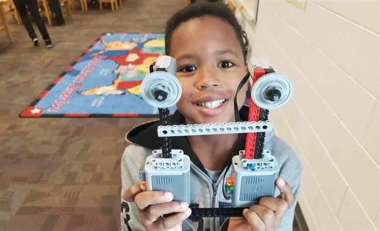 Lego Cable Lift Activity