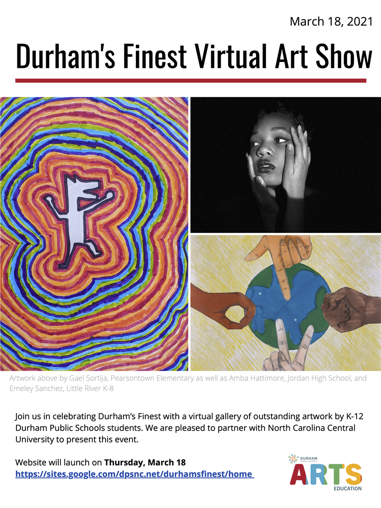 Durham's Finest Virtual Art Show
