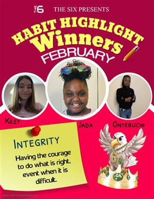 Feb. Winners