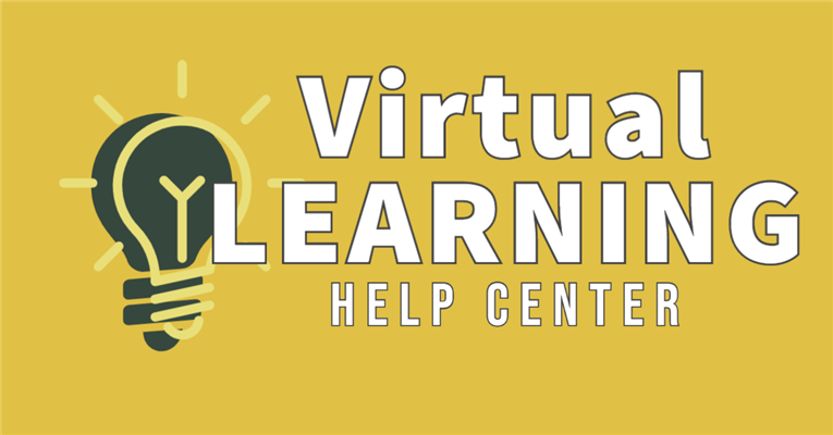 Visit the Virtual Learning Help Center! / Visite el Centro de ayuda de aprendizaje virtual