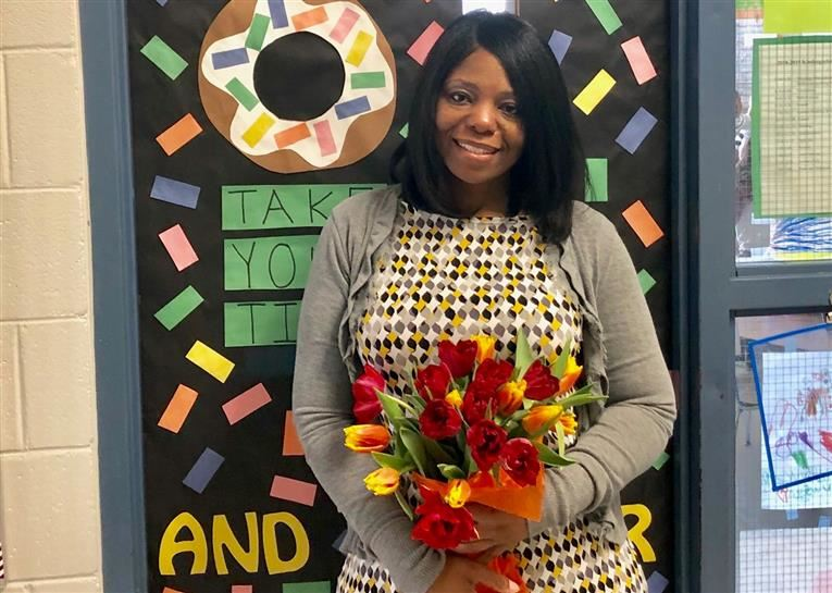 Ms.  Dawson was elected by her peers as the 2019 Eastway Teacher Of The Year