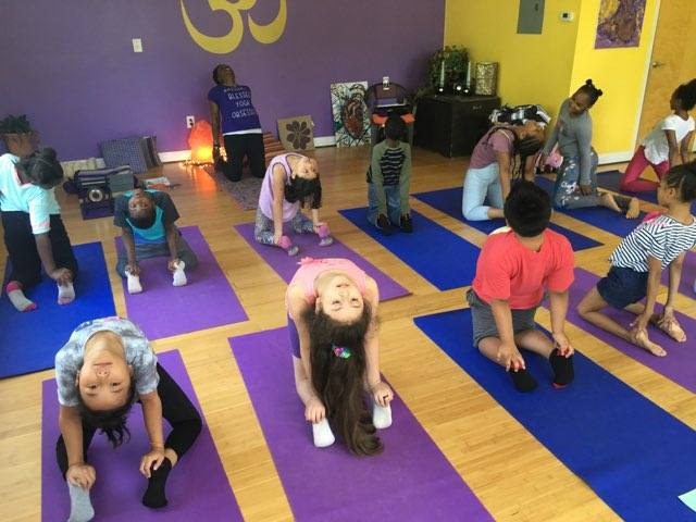 Generous partners enabled our students to take a field trip to a YOGA studio. Mrs. Saddler-Walker, M