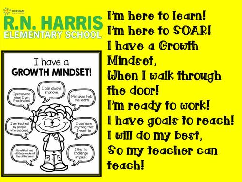 Growth Mindset Chant