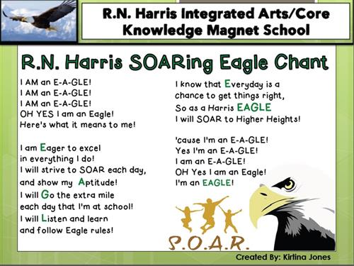 SOARing Eagle Chant