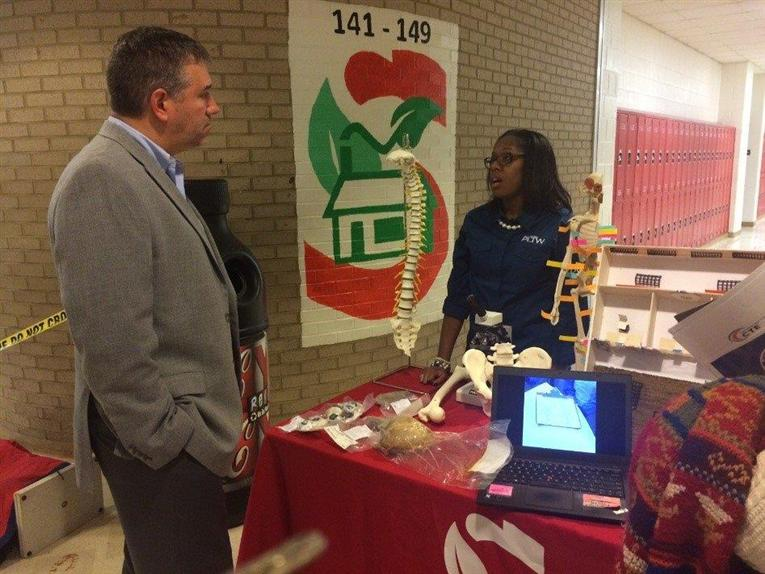 CTE Event Celebrates Employers, Showcases Offerings