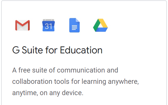 Logging into GSuite from Home