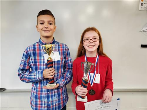 2019-2020 Spelling Bee Winners