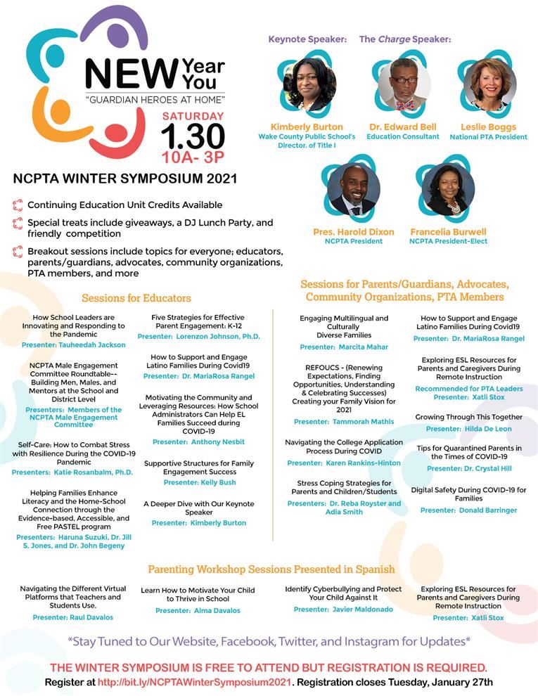 Winter Symposium for Teachers, Leaders, and Parents