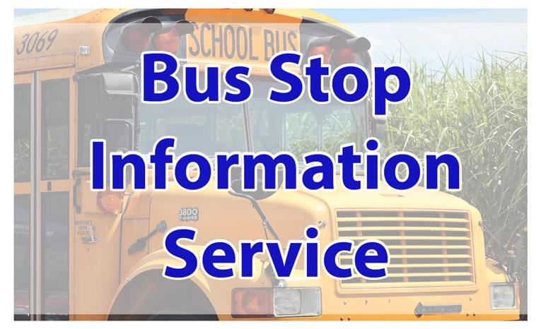 DPS Bus Stop Information
