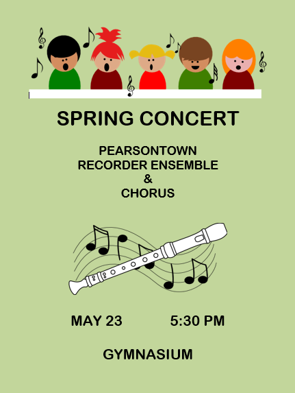 Pearsontown Spring Music Concert