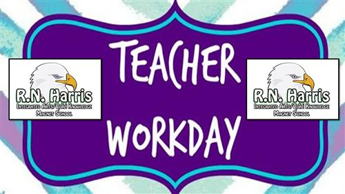 Teacher Workday: No School