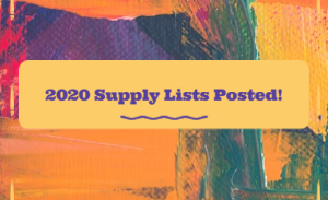 2020 Supply Lists Posted!
