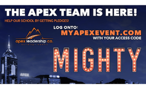 Apex Virtual Remix Fitness Fundraiser