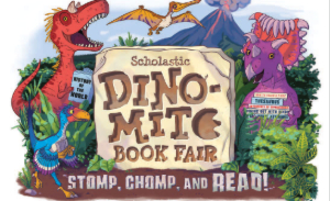 Check out this Dino-Mite Book Fair!