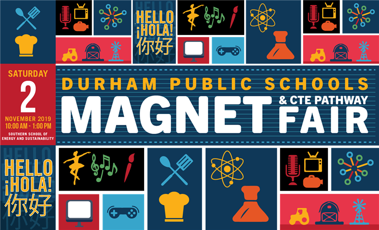 Join us for the 2019 DPS Magnet and CTE Pathway Fair on November 2 at Southern School of Energy and