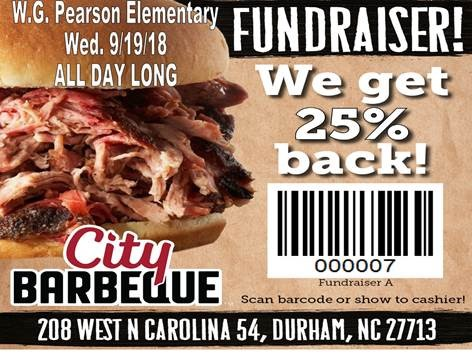 City Barbeque Fundraiser