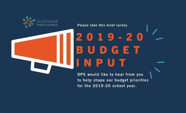 2019-20 Durham Public Schools Community Input on Budget Priorities