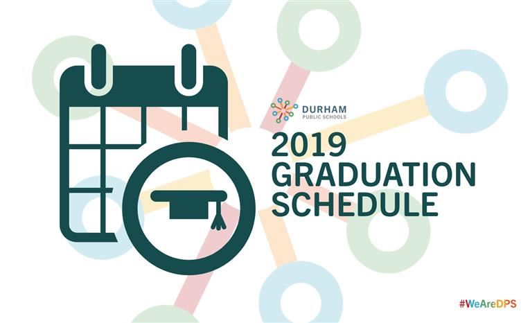 2019 DPS High School Spring Graduation Schedule