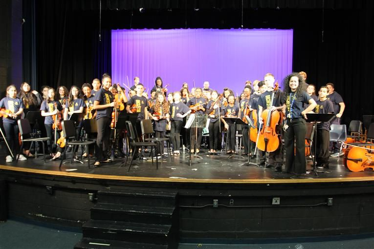 Northern High Hosts Orchestra Festival