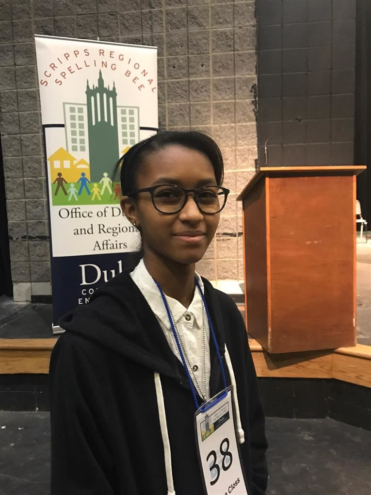 Hanna  Closs Wins Scripps Regional Spelling Bee