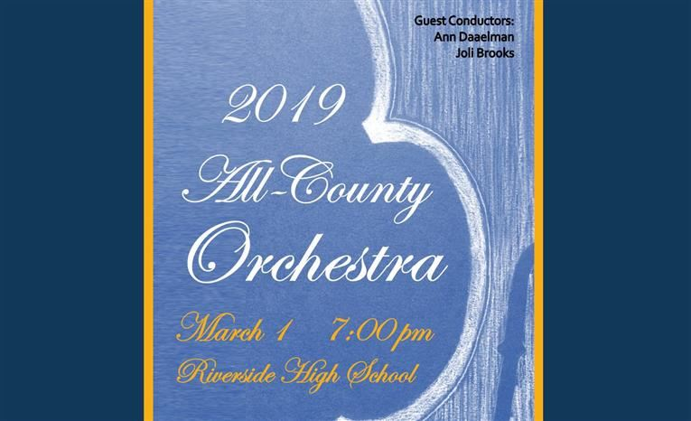 2019 All-County Orchestra (English/Español)