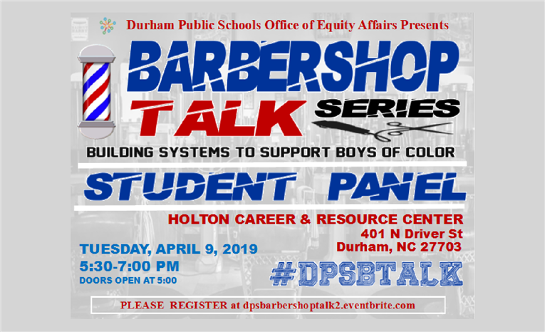 Barbershop Talk Series