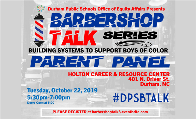 Barbershop Talk Series: Building Systems to Support Boys of Color