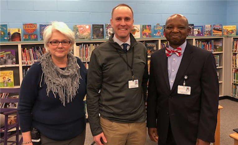 Club Boulevard Assistant Principal Named AP of the Year