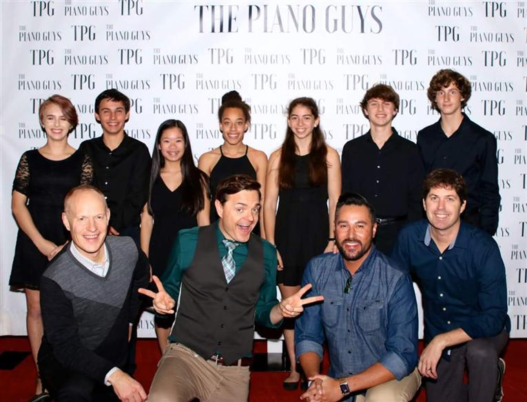 DSA Students Perform at DPAC with The Piano Guys