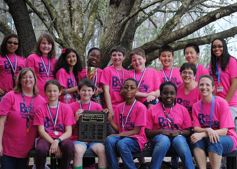 Pearsontown wins Elementary Battle of the Books