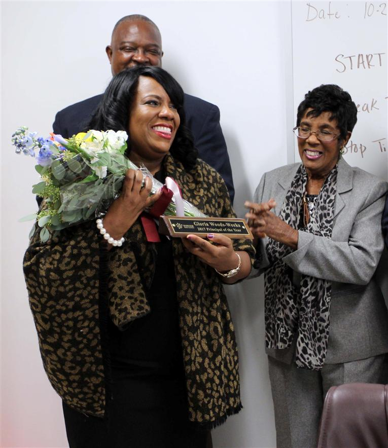 Gloria Woods-Weeks Named Durham Public Schools 2017 Principal of the Year