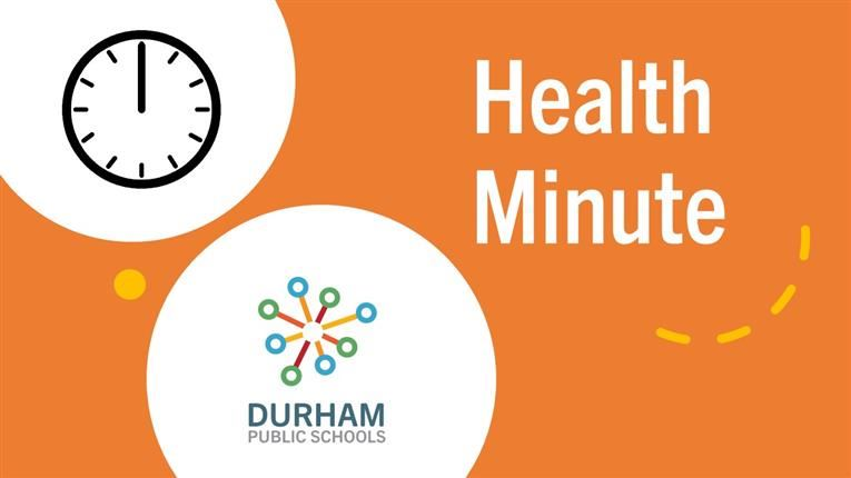 #DPSVideo | DPS Health Minute | Episode 1