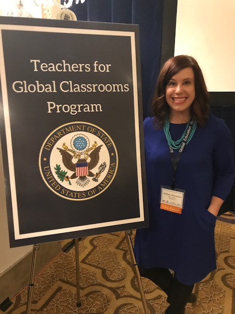Neal Teacher Selected as Fellow for Teachers for Global Classrooms
