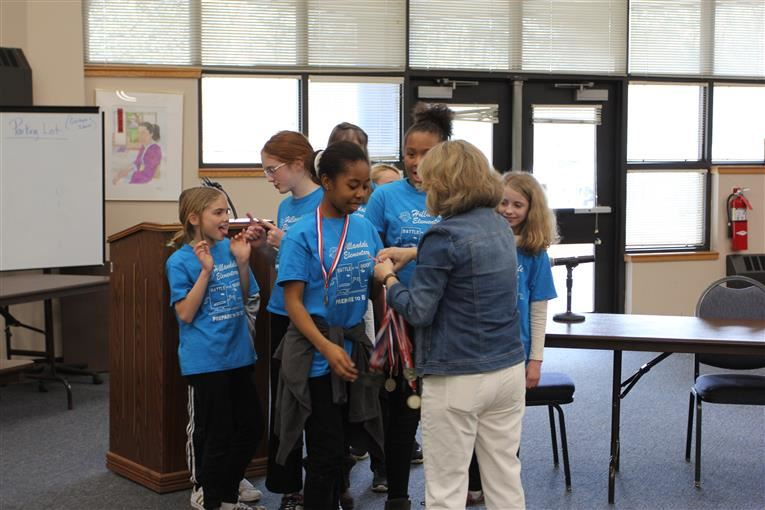 Hillandale Elementary Wins DPS Battle of the Books