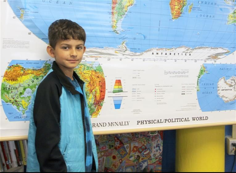 Forest View Student Places 5th in State National Geographic Bee