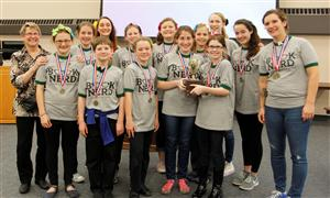 2017 Middle School Battle of the Books Winners