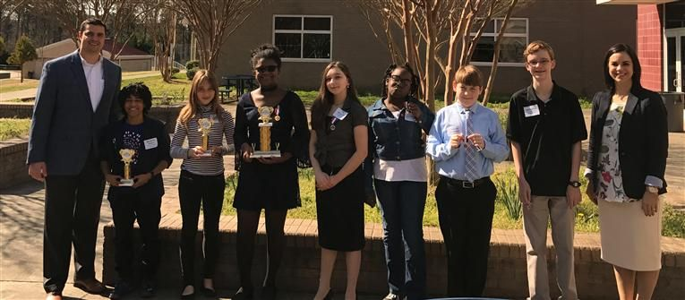 DPS Holds First Modern Woodmen Speech Contest
