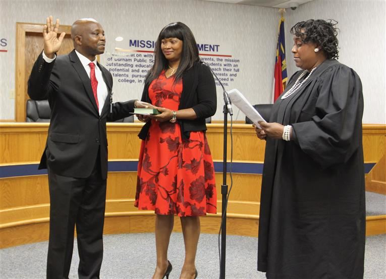 Dr. Mubenga Sworn in as DPS Superintendent