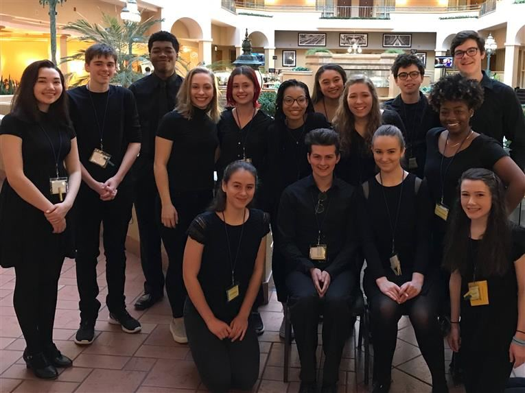 DSA Students Superior at State Thespian Conference