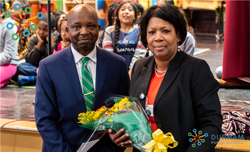Congratulations to our 2019 Principal of the Year Dr. Kimberly Ferrell of Burton Elementary Magnet S
