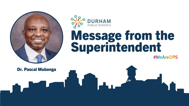 Message from the Superintendent | October 22, 2020